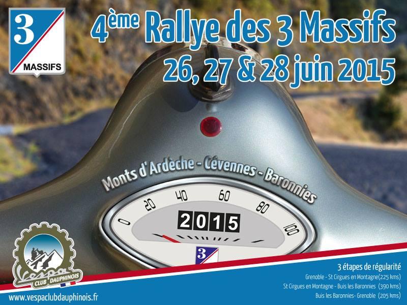 Rallye des 3 massifs