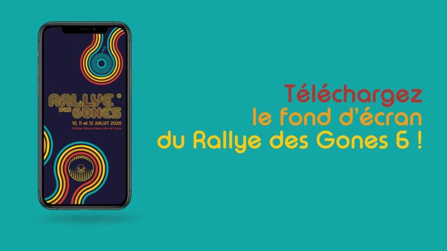 Fond d'écran Rallye des Gones 6 organisé par le Scooter Club Lyonnais et le Vespa Club de France